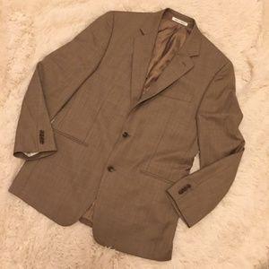 MICHAEL KORS  SUIT SET Wool Button Front Beige Tan